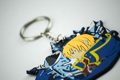 Blazblue Jin Keychain by Eighty Sixed.
