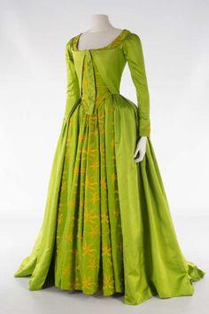 "Dress from the French film ""Les Adieux à la Reine"""
