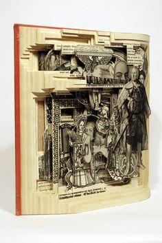 BRIAN DETTMER http://www.widewalls.ch/artist/brian-dettmer/ #contemporary #art #sculpture