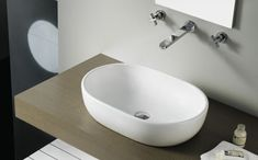 Toulouse | Oval Porcelain Washbasins | The Bath Collection