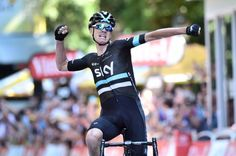 Tour de France 2016 - Official site - STAGE 8 Defending Champion Chris Froome (GB) SKY - WINNER OF THE DAY