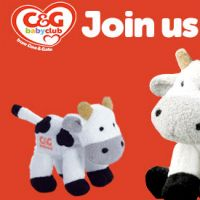 Get your free cuddly cow and a pregnancy diary today by joining the C&G Baby Club.