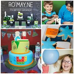 Explore these 17+ ideas from the super fun world of science... parties!
