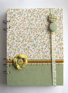 BLOG DE BASICCREA. Altered notebook.  Notebook. Cuaderno decorado. Libro alterado. Book.