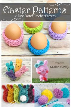 8 free crochet Easter patterns Easter is just around the corner, and if we want to finish any crafty project we need to start pretty much now. To make it a little easier to find what to create, I gathered...