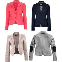 Blazers for Spring, created by fancyfrancy on Polyvore