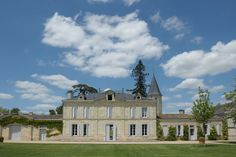Chateau Cheval Blanc, located on Bordeau'x right bank, in St. Émilion.