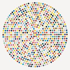 The Complete Spot Paintings by Damien Hirst (originally seen on kate spade)