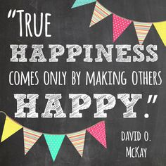 True Happiness quote - free printable