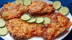 Pork Tenderloin Recipes, Food 52, Fritters, Ham, Food And Drink, Low Carb, Cooking Recipes, Chicken, Dinner