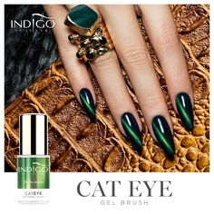 Rio De Janeiro Cat Eye Gel Brush | Indigo Nails
