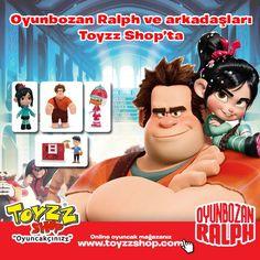 Oyun Bozan Ralph ve Arkadaşları  Toyzz Shop oyuncak mağazalarında  http://www.toyzzshop.com/urun_liste/?keywords=ralph=1==1