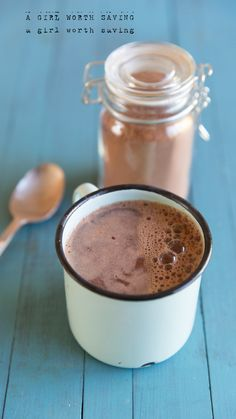 Want to drink a hot cup of chocolate in an instant? Make up this Paleo Hot Cocoa Mix and you'll be sipping on dreamy dark chocolate before you know it!
