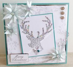 Handmade Christmas card by Sparklewish on Etsy