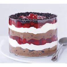 Black Forest Mousse Dessert