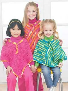 I still have the pink poncho my grandmother crocheted for me when i was a wee amypop. i want to make a wee poncho!