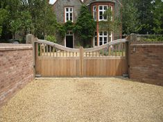 Wooden garden gates and timber doors can be made to your requirements by our carpenters and craftsmen. Bespoke timber construction in Suffolk, Norfolk, Essex and Cambridgeshire Wooden Garden Gate, Garden Gates And Fencing, Wooden Gates, Garden Doors, Front Gates, Entrance Gates, Garden Wall Designs, Garden Design, Wooden Electric Gates