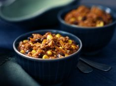 Black bean, corn and turkey chili recipe cook with campbells Healthy Crockpot Recipes, Chili Recipes, Slow Cooker Recipes, Cooking Recipes, Healthy Meals, Ham And Cheese Crepes, Salsa, Turkey Chili, Dinner Entrees