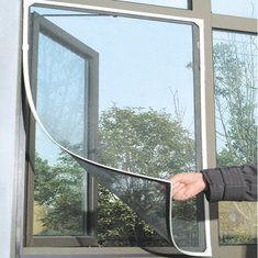 [US$1.94] Honana WX-318 White Insect Mosquito Door Window Mesh Screen Sticky Nylon Tape Net #Honana #White #Insect #Mosquito #Door #Window #Mesh #Screen #Sticky #Nylon #Tape