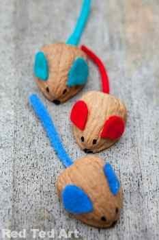 ratones de nuez