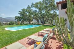 Ford Estate Spanish Colonial Ojai (5) #CourtYard #Landscape #Outdoor ༺༺  ❤ ℭƘ ༻༻