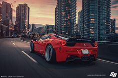Liberty Walk Ferrari 458 Italia On PUR Wheels Might Not Be Everybody's Cup Of Tea