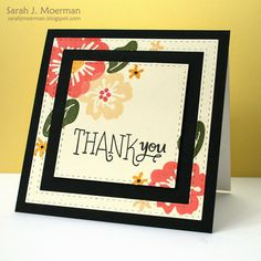 Love this card by Sarah Moerman using the March 2015 card kit by Simon Says Stamp