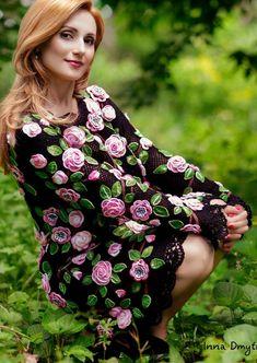 I loooove Irish crochet! Crochet Toddler Dress, Toddler Dress Patterns, Crochet Summer Dresses, Crochet Skirts, Crochet Blouse, Crochet Clothes, Russian Crochet, Irish Crochet, Floral Fashion