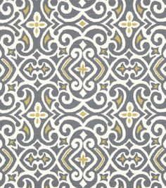 Upholstery Fabric- Robert Allen New Damask Greystone. An oversized chair convered in this fabric would be wonderful!