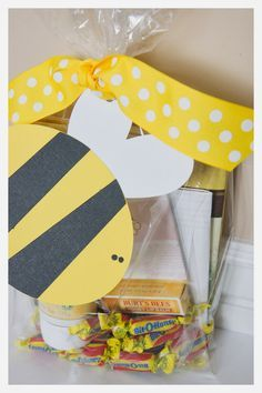 One of our young women earned her Honor Bee! I put together this package as a gift to her. It contains the book One Drop at a Time by M. R...
