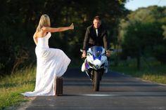 motorcycle wedding photography ideas | carlsberg dont do motorbike related wedding photos