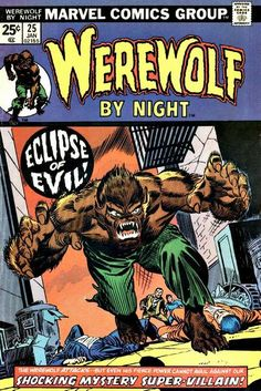 Werewolf by Night #25, inked by Mike Esposito