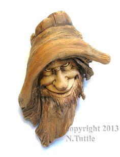 wood spirit by psychosculptor on DeviantArt