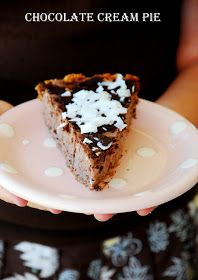 The Theology of Food: Chocolate Cream Pie-Gluten and Dairy Free
