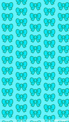 Wallpaper Cute Blue Wallpaper, Bow Wallpaper, Cellphone Wallpaper, Cartoon Wallpaper, Mobile Wallpaper, Pattern Wallpaper, Wallpaper Backgrounds, Blue Wallpapers, Pretty Wallpapers