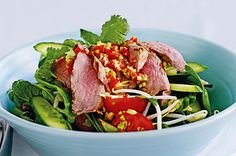 Spicy Beef Salad (Low GI)