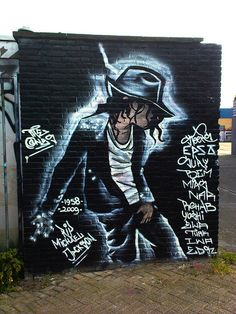 Pop Art - Tilburg, The Netherlands.   I love Michael Jackson