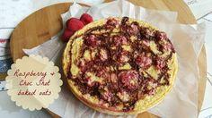 Raspberry & Choc Shot baked oats | Recipe (Slimming World friendly) :http://www.nobodysaiditwaseasy.co.uk/2016/04/raspberry-choc-shot-baked-oats.html?relatedposts_hit=1