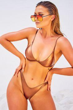 772653e0135cf Sarah ashcroft bronze triangle bikini top