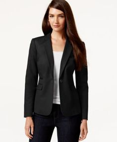 Vince Camuto One-Button Blazer | macys.com
