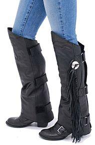 5ad9f29de4cf8 Braid   Fringe Leather Vest  VL361FBK
