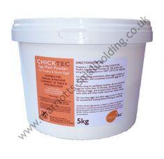 Chicktec Egg Wash Powder 5kg - £21.39 ex. VAT #Chicktec, #5kg, #Poultry