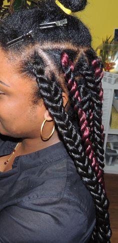 Marley Havana Kinky Long Twists Red Hair Havana Twists