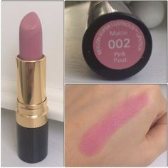 Revlon Super Lustrous Lipstick in Pink Pout. Follow my instagram @mellyfmakeup