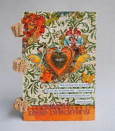Always keep dreaming - minialbum by Anski | made in Birgit Koopsen's workshop.