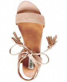Steve Madden Women's Daryyn Strappy Sandals Sandals Shoes Macy's - - Sandals Shoes - Ideas of Sandals Shoes - Steve Madden Women's Daryyn Strappy Sandals Sandals Shoes Macy's womens evening shoes where to buy womens shoes womens discount shoes Cute Sandals, Lace Up Sandals, Cute Shoes, Me Too Shoes, Flat Strappy Sandals, Strappy Sandals Outfit, Women Sandals, Women's Shoes Sandals, Sneakers Shoes