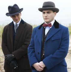"""Boardwalk Empire - Arnold Rothstein and Charles """"Lucky"""" Luciano"""