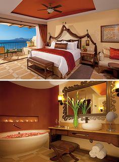 Plan a destination wedding or honeymoon at Secrets Puerto Los Cabos Golf with Apple Vacations!