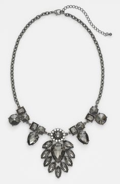 Will be wearing this vintage style statement necklace this fall.