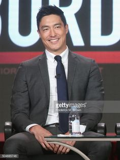 Actor Daniel Henney speak onstage during the 'Criminal Minds Beyond Borders' panel discussion at the CBS/ShowtimeTelevision Group portion of the 2015...